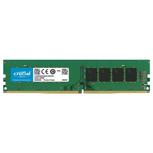 クルーシャル CT32G4DFD8266 [32GB DDR4 2666 MT/s (PC4-21300) CL19 DR x8 Unbuffered DIMM 288pin]