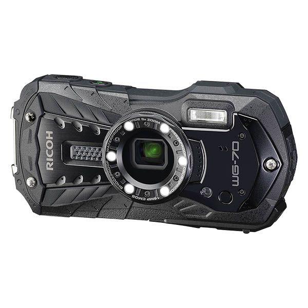 リコー WG-70BK [防水デジタルカメラ WG-70 (ブラック)]