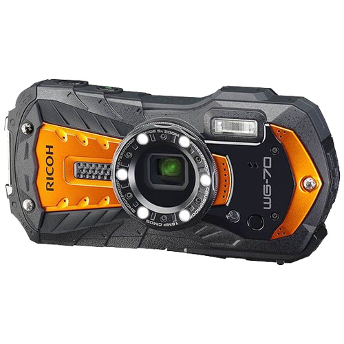 リコー WG-70OR [防水デジタルカメラ WG-70 (オレンジ)]