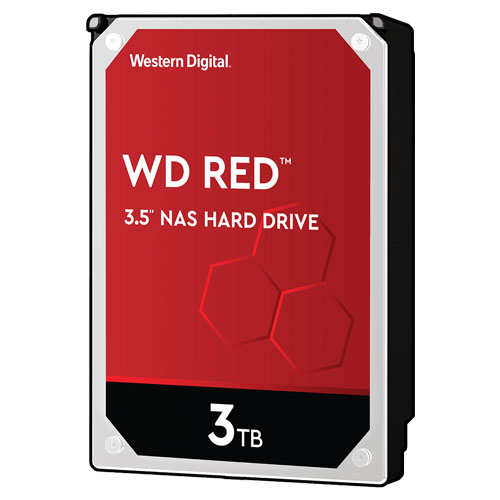 ウエスタンデジタル WD30EFAX [WD Red(3TB 3.5インチ SATA 6G 5400rpm 256MB SMR)]
