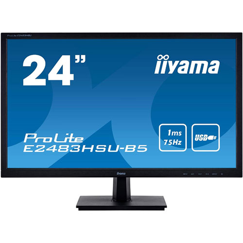 イーヤマ ProLite E2483HSU-B5 [24型ワイド液晶ディスプレイ E2483HSU-5]