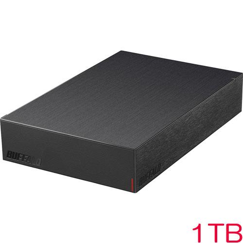 HD-LE1U3-BA [USB3.2(Gen1)対応外付けHDD 1TB ブラック]