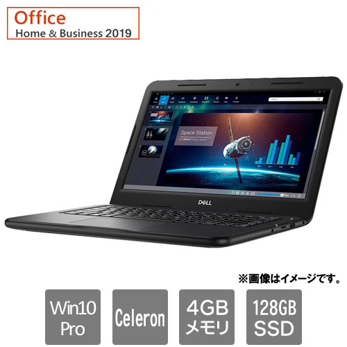 Dell NBLA084-101H91 [Latitude 3310 (Celeron 4GB SSD128GB Win10Pro64 13.3HD H&B2019 1Y)]