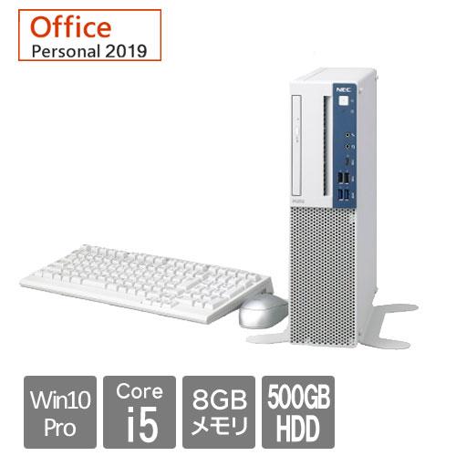 NEC Mate PC-MKM30BZ6U8V4NKSSA [MB(Ci5 8GB 500+16 マルチ Per19 Win10P 3Y)]