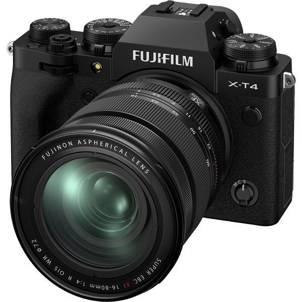 X-T4LK-1680-B [ミラーレスデジタルカメラ X-T4 レンズキット ブラック]