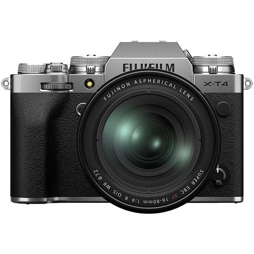X-T4LK-1680-S [ミラーレスデジタルカメラ X-T4 レンズキット シルバー]