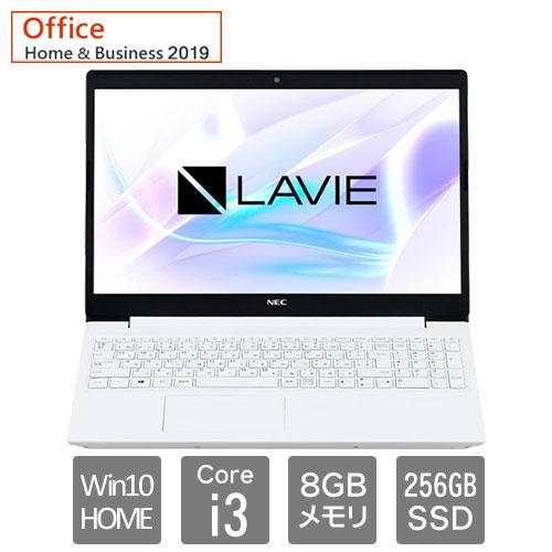 ★台数限定★PC-SN212JFDF-D [LAVIE Smart NS(Core i3 8GB 256GB DSM 15.6 W10H64 H&B2019 WH)]
