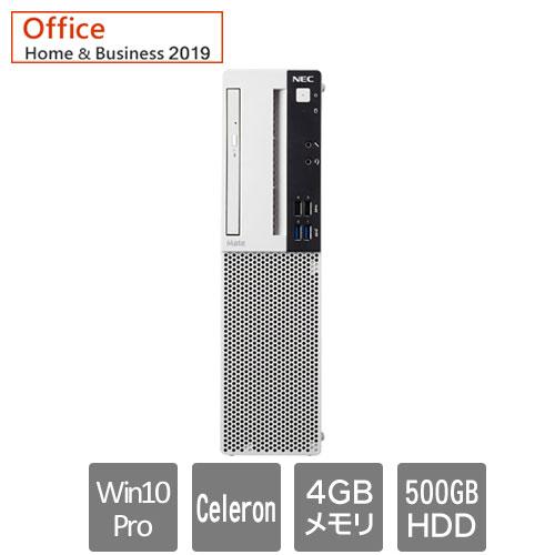 NEC Mate PC-MRE32LZ7AAS6 [ML(Cel 4GB 500 マルチ H&B19 Win10P 1Y)]