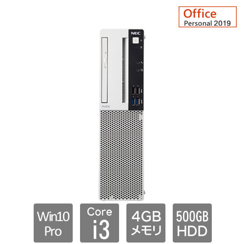 NEC Mate PC-MRL36LZ6AAS6 [ML(Ci3 4GB 500 マルチ Per19 Win10P 1Y)]