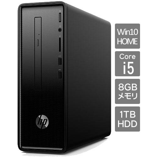 ★台数限定★6DW24AA-AABX [HP Slim 290-p0000 G1モデル(i5 8GB 1TB DVDライター W10H64)]