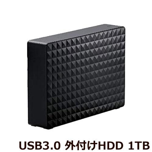 エレコム ★限定特価★SGD-MX010UBK [外付けハードディスク/USB3.1対応/1TB/Seagate MXシリーズ/ブラック]