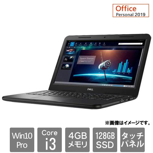 Dell NBLA084-A21P91 [Latitude 3310 (Core i3 4GB SSD128GB Win10Pro64 13.3FHDタッチ Personal2019 1Y)]