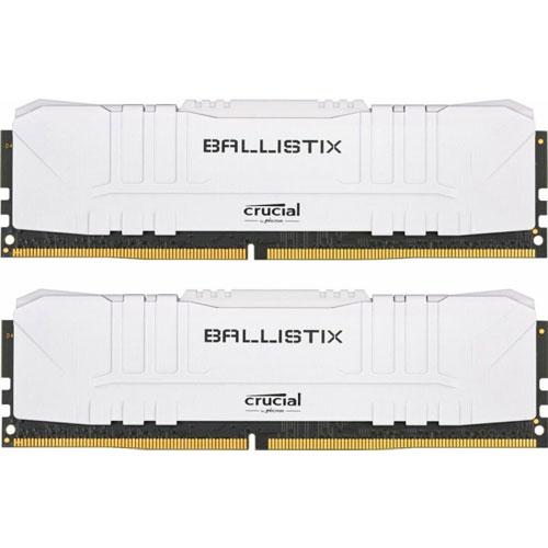 クルーシャル BL2K16G36C16U4W [Ballistix 32GB Kit (16GBx2) DDR4 3600MT/s (PC4-28800) CL16 UDIMM 288pin White]