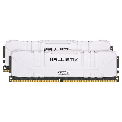 クルーシャル BL2K16G30C15U4W [Ballistix 32GB Kit (16GBx2) DDR4 3000MT/s (PC4-24000)/s CL15 UDIMM 288pin White]