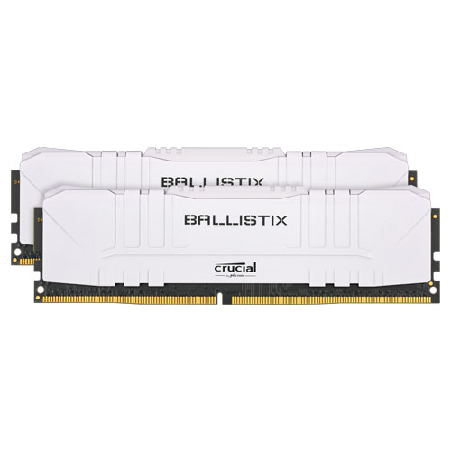 クルーシャル BL2K8G30C15U4W [Ballistix 16GB Kit (8GBx2) DDR4 3000MT/s (PC4-24000)/s CL15 UDIMM 288pin White]