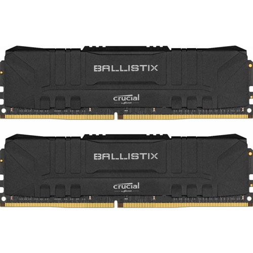 クルーシャル BL2K32G36C16U4B [Ballistix 64GB Kit (32GBx2) DDR4 3600MT/s (PC4-28800) CL16 UDIMM 288pin Black]