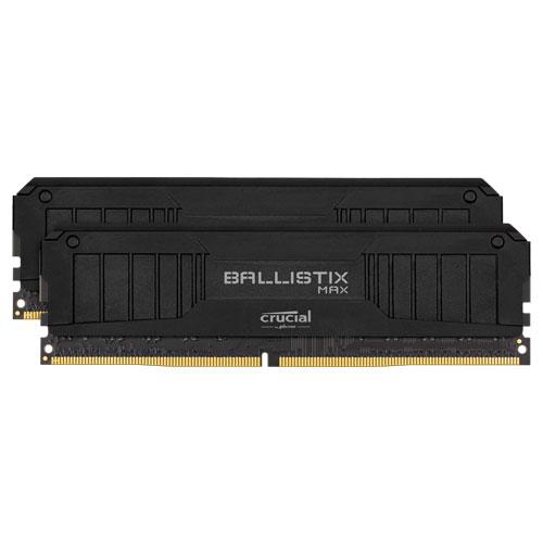 クルーシャル BLM2K8G44C19U4B [Ballistix MAX 16GB Kit (8GBx2) DDR4 4400MT/s (PC4-35200) CL19 UDIMM 288pin Black]