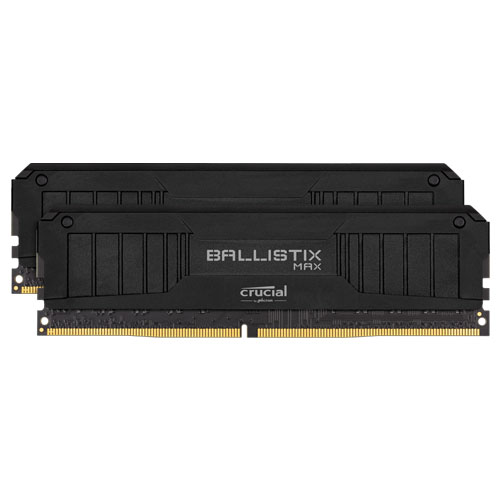 クルーシャル BLM2K8G40C18U4B [Ballistix MAX 16GB Kit (8GBx2) DDR4 4000MT/s (PC4-32000) CL18 UDIMM 288pin Black]