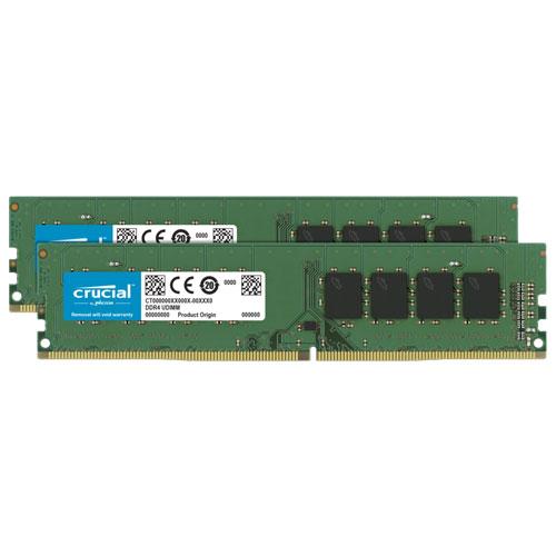 クルーシャル CT2K32G4DFD832A [64GB Kit (32GBx2) DDR4 3200 MT/s (PC4-25600) CL22 DR x8 Unbuffered DIMM 288pin]