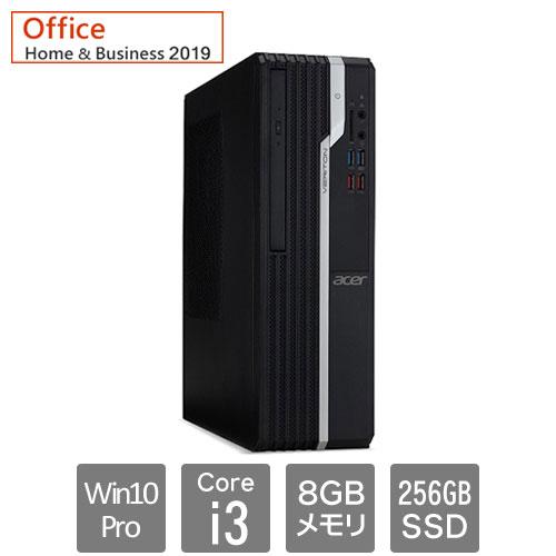 エイサー Veriton(ベリトン) X [VX2665G-N38UB9 (i3-9100 8GB SSD256GB W10P64 OFHB19)]