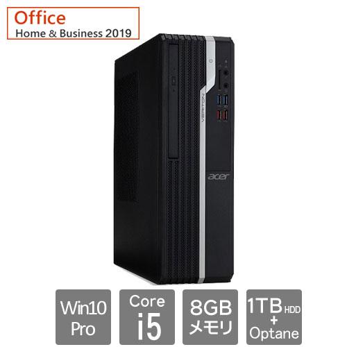 エイサー Veriton(ベリトン) X [VX2665G-N58FB9 (i5-9400 8GB HD1TB W10P64 OFHB19)]