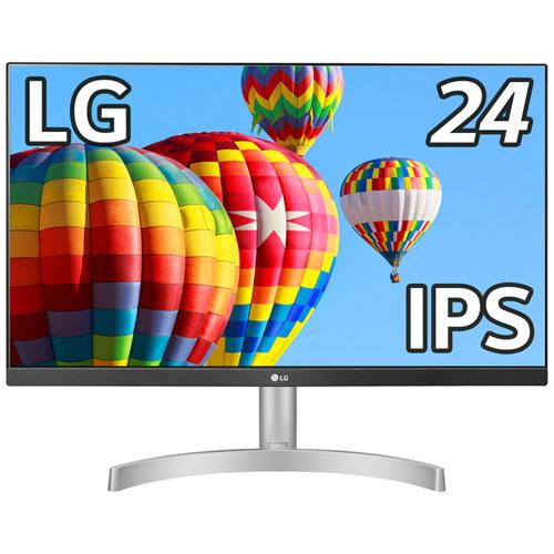 LG電子ジャパン ML600 24ML600S-W [23.8型フルHD3辺フレームレス液晶ディスプレイ(IPS)]