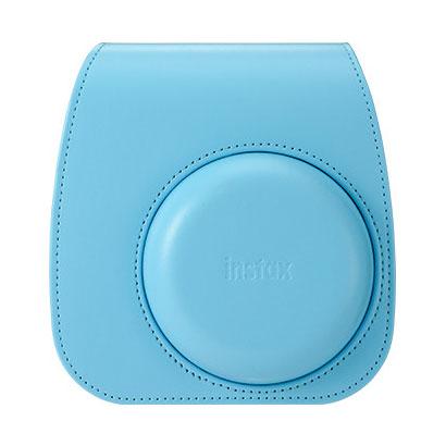 富士フイルム instax mini 11 カメラケース ブルー