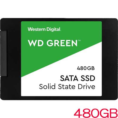 WDS480G2G0A [WD Green 3D NAND SATA SSD (480GB 2.5インチ SATA 6G 7mm厚 3年保証)]