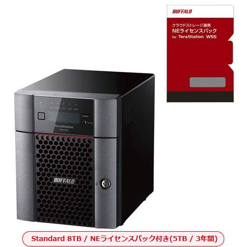 バッファロー TeraStation WSS WS5420DN08S9-3Y5 [デスクトップ4ベイNAS 8TB Std NEライセンスパック3Y5TB]