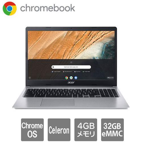 エイサー Chromebook 315 [CB315-3H-A14N/E (Celeron N4020 4GB eMMC32GB Chrome OS 15.6WXGA ピュアシルバー)]