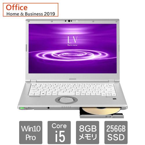 パナソニック Lets note LV8 CF-LV8KM4VS [LV8 (i5 8GB SSD256GB SMD W10P 14 H&B2019)]