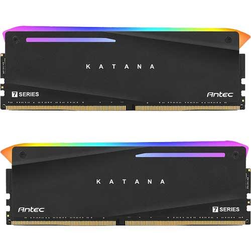 ANTEC AM4U32168G11-7DKR [7 Series KATANA 16GB (8GBx2枚) DDR4 3200MHz(PC4-25600) 288P UDIMM CL18-20-20-44]