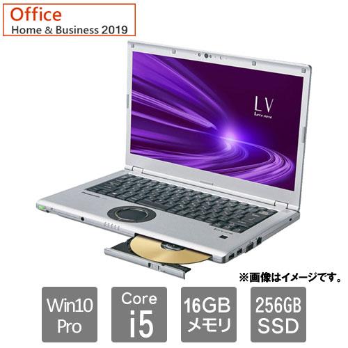 パナソニック CF-LV9HDMQR [Let's note LV9 店頭モデル(i5/SM/10P/BK&SV)]