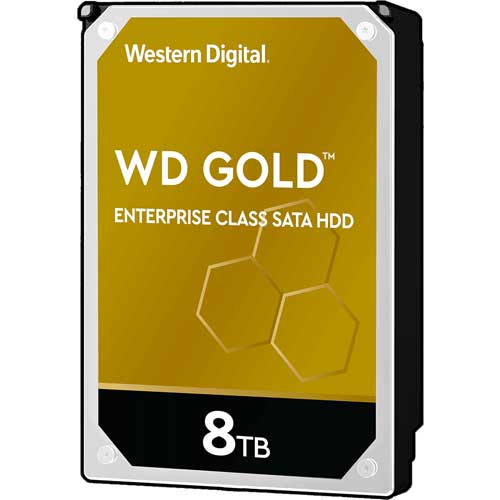 ウエスタンデジタル WD8004FRYZ [WD Gold (8TB 3.5インチ SATA 6G 7200rpm 256MB)]