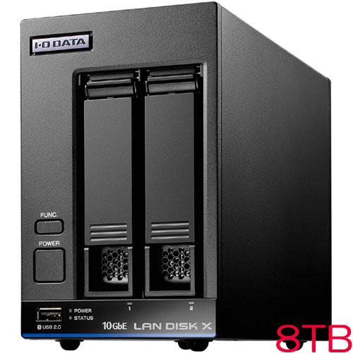 HDL2-XA HDL2-XA8 [10GbE対応法人向け2ドライブNAS 8TB]
