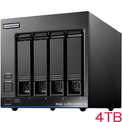 HDL4-XA HDL4-XA4 [10GbE対応法人向け4ドライブNAS 4TB]