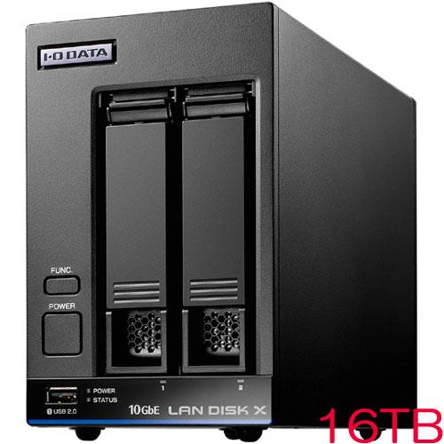 HDL2-XA HDL2-XA16 [10GbE対応法人向け2ドライブNAS 16TB]