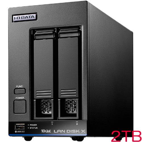 HDL2-XA HDL2-XA2 [10GbE対応法人向け2ドライブNAS 2TB]