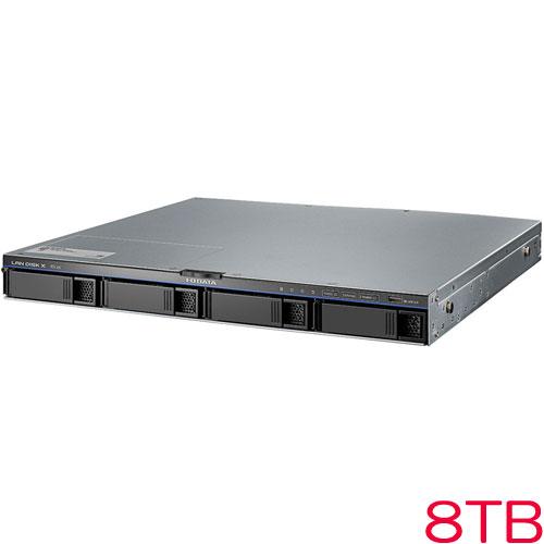 HDL4-XA-U HDL4-XA8-U [10GbE対応法人向け4ドライブラックマウントNAS 8TB]