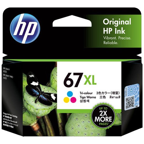 HP 3YM58AA [HP 67XL インクカートリッジ カラー]