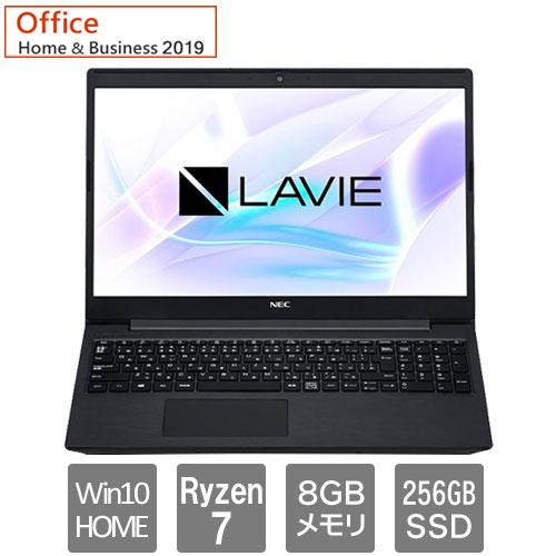 NEC ★限定特価★PC-SN23N2GDH-D [LAVIE Smart NS(Ryzen 7-3700U SSD256GB 15.6FHD Windows10 H&B2019 BK)]