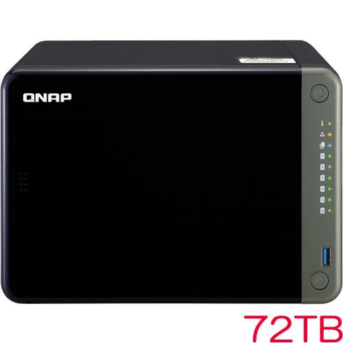 QNAP NAS T653DM126 [TS-653D MD 72TB (12TBx6)]