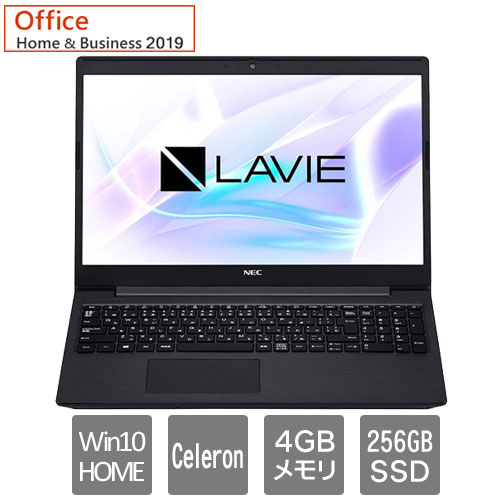 PC-SN18CSHDH-D [LAVIE Smart NS(Cel 4GB SSD256GB DVD Office有り BK)]