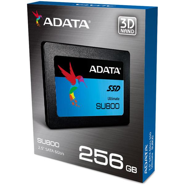 ADATA SU800 ASU800SS-256GT-C [内蔵SSD 256GB 2.5インチ]