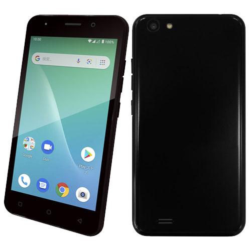 geanee ★スピーカープレゼント★ADP-503G/BK [Android10.0 ブラック 5インチ スマートフォン]