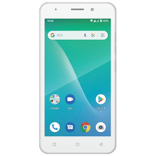 ★スピーカープレゼント★ADP-503G/WH [Android10.0 ホワイト 5インチ スマートフォン]