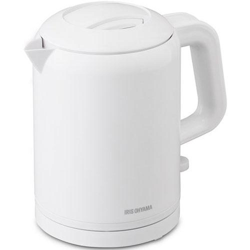 アイリスオーヤマ 調理家電 IKET-800-W [ケトル 転倒湯漏レ防止機能付キ]