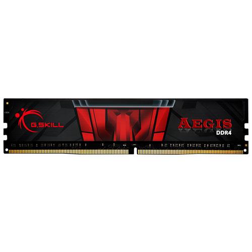 G.SKILL F4-2400C15S-8GIS [Aegis 8GB (8GBx1) DDR4 2400MHz (PC4-19200) CL15-15-15-35 1.20V]