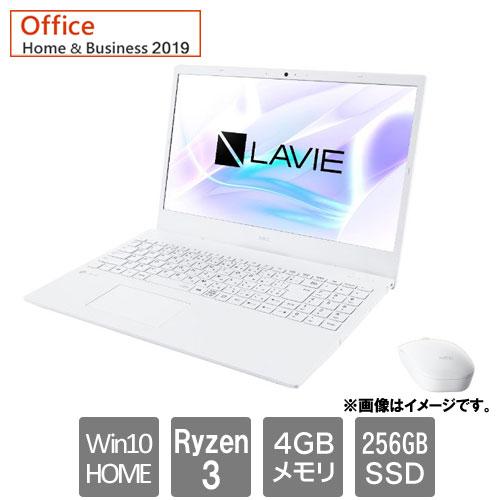 NEC PC-N1535AAW [LAVIE N15 - N1535/AAW (Ryzen3 4GB SSD256GB Win10Home64 15.6FHD H&B2019 パールホワイト)]