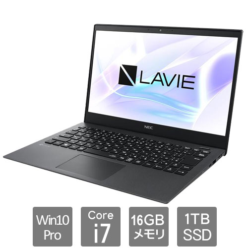 NEC PC-GN1863YGYAAFC6YDA [LAVIE Direct PM (Core i7 16GB SSD1TB Win10Pro64 13.3)]
